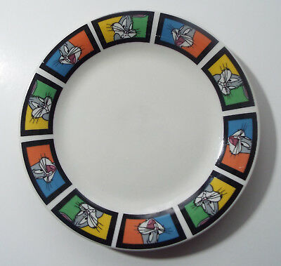 """GIBSON Looney Tunes Bugs Bunny 7"""" Saucer ~ Warner Brothers ~ Collectible"""