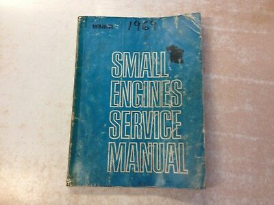 1969 SMALL ENGINE SERVICE MANUAL 328pg Kohler B&S Clinton Onan Lauson Reo Pincor