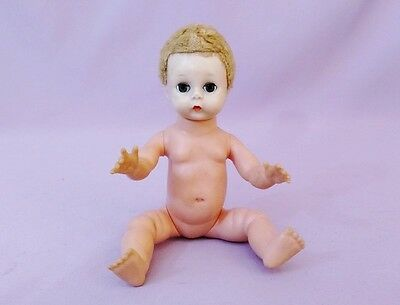 "7  1/2"" LITTLE GENIUS BABY DOLL by MADAME ALEXANDER 1956 - 57"