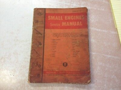 1957 It Small Antique Engine Service Manual B&s Clinton Lauson Mcculloch Titan