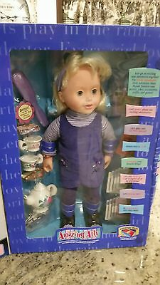 Amazing Ally Doll and Tea Set New in Box. Interactive Toy.