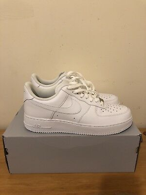Nike Air Force 1 White UK Size 8