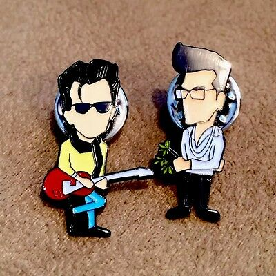 The Smiths Morrissey & Marr Pin Badges A Guy Called Minty Madchester Indie Fac51
