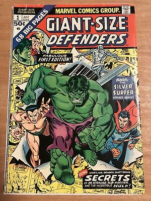 Giant-Size Defenders #1 (Jul 1974, Marvel)