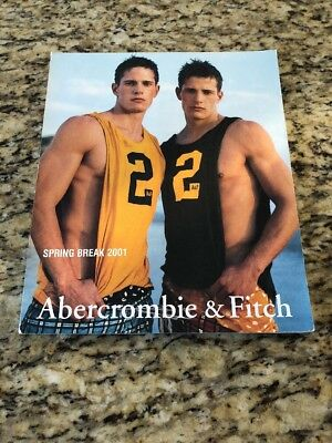 Abercrombie & Fitch Spring Break 2001 Catalog Carlson Twins Gay Interest