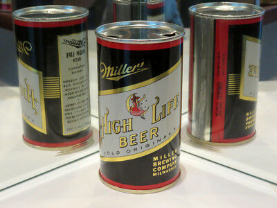 Miller High Life Beer - Gorgeous Black Flat Top