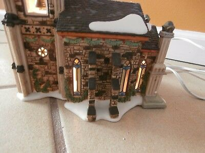 Dept. 56 Somerset Valley Church/ Dickens' Village Series/ with Lights and Sounds