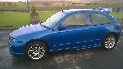 MG ZR 1.4 petrol 3 door trophy blue MOT'd