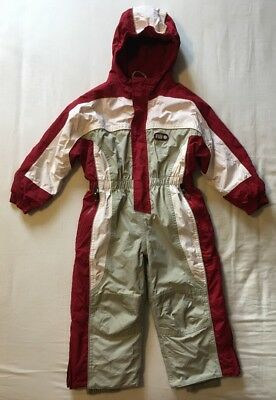 TCM Fun Tribe Snow Suit 3-4 Years (98-104cm) Red, Cream And Beige