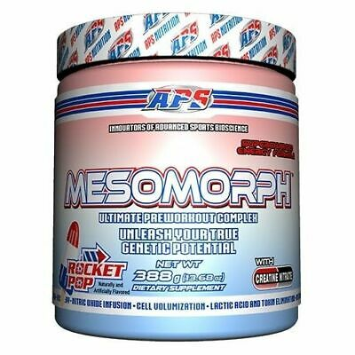 APS NUTRITION MESOMORPH V3 Pre-Workout 25 Servings Mesomorph - Pick Flavor