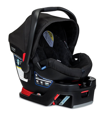 Safe B 35 Seat Britax Infant Car Black Elite Base New And Domino Rear Baby