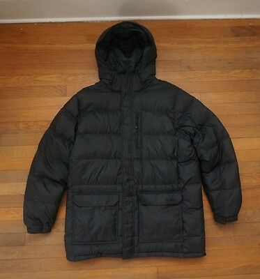Ll Bean Down Parka Jacket Trail Model Large