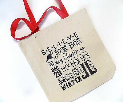 Tote - Merry Christmas - Canvas Tote Bag