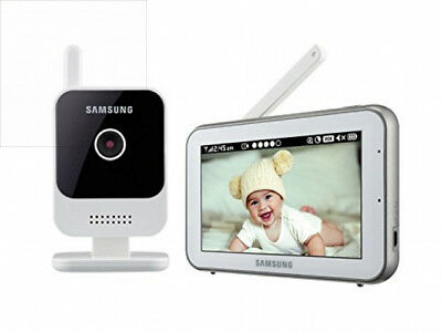 Samsung SEW-3042W RealVIEW HD Baby Video Monitoring System IR Night Vision...