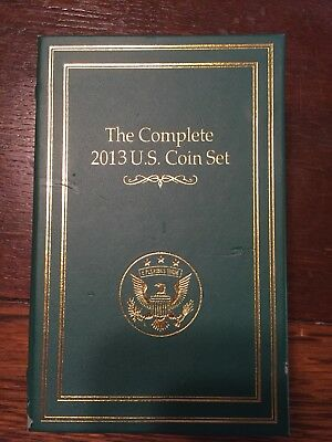 Complete 2013 U.S. Coin Set Danbury Mint
