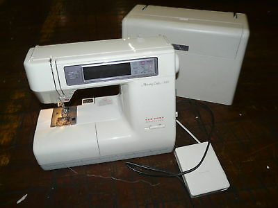 Janome Memory Craft 8000 Sewing Machine LOW BACK LIGHT