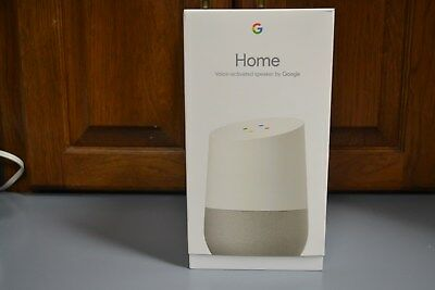 Google Home - Google Personal Assistant -BRAND NEW IN BOX- White Slate