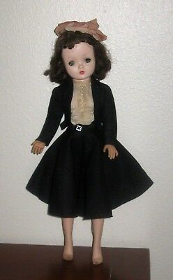 Vintage Madame Alexander  Cissy Doll 1957  #2019 Secretary Outfit W/  Hat