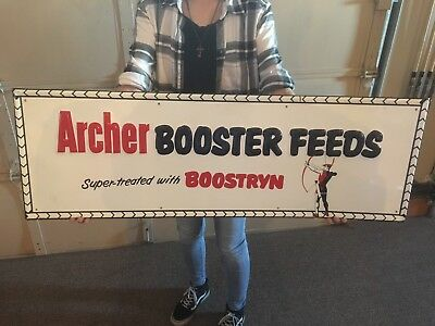 Old Archer Booster feeds Sign