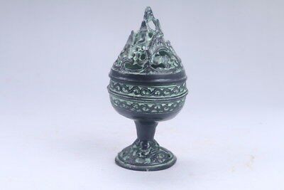 Collection Chinese Hand-carved bronze Incense burner ac345