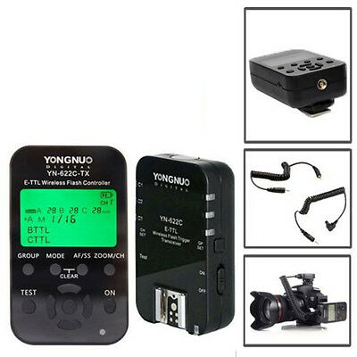 Yongnuo YN-622C-TX Wireless E-TTL Flash Controller Trigger + YN622C for Canon US