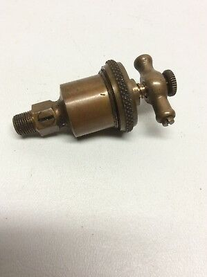 Antique Brass Lunkenheimer Co. Cincinnati O. Ideal No. 00 Oiler Grease Cup