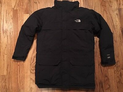 NORTH FACE HYVENT 550 GOOSE DOWN INSULATED Black JACKET COAT Boys XL 18-20