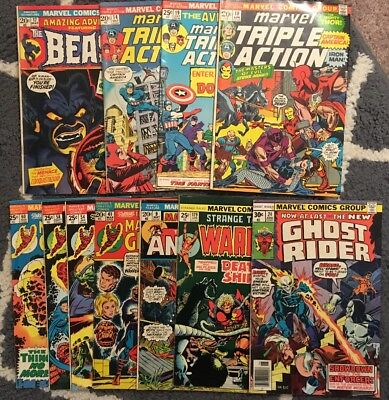 Marvel Comics Lot: Triple Action, The Beast, Marvel's Greatest, More!