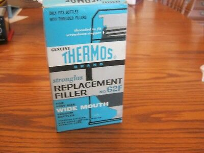 Thermos Stronglas Replacement Filler No. 62F Pint Size Wide Mouth Vacuum Bottle