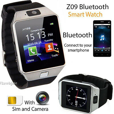 Bluetooth Reloj Inteligente Smart Watch Phone Para iPhone android SAMSUNG Sony