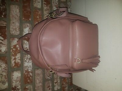 Skip Hop Greenwich Simply Chic Diaper Backpack... used 2x ... Dusty Rose!!