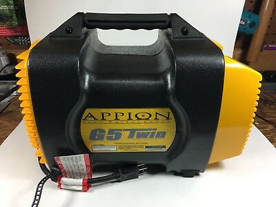 Appion G5 Twin Refrigerant Recovery Unit w/ spare filter (pressure tested)