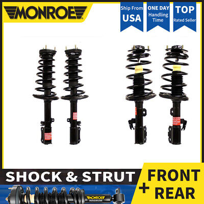 FOR TOYOTA RAV4 Front Rear Quick Struts Coil Springs Shock