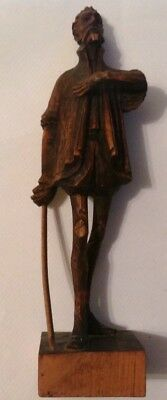 Ouro carved wood  statue figure