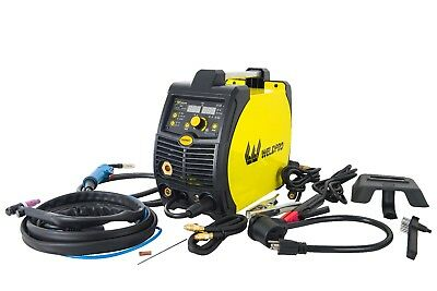 MIG200GDsv 200 Amp Inverter Multi-Process Welder with Dual Voltage