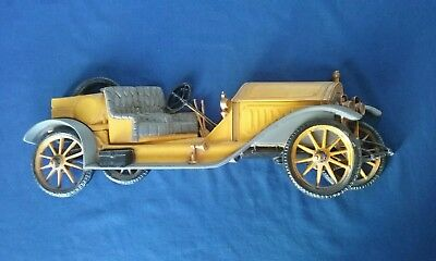 Antique Brass Era (Early 1900s) Touring Car Wall Hanging