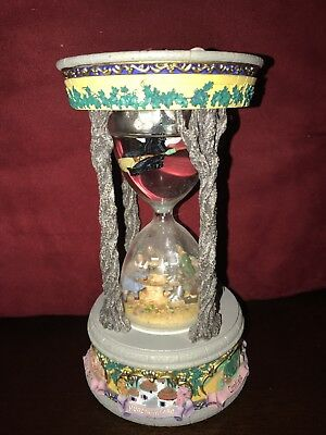 Wizard Of Oz Hourglass Musical Snow/Water Globe San Francisco Music Box Co.1999