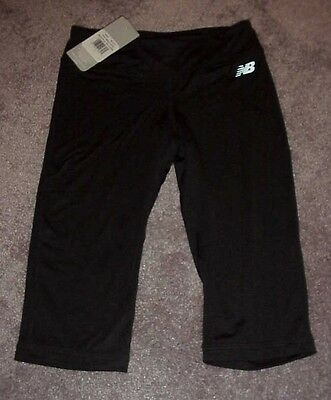 NEW BALANCE Dry Performance Bike Shorts Size 6 - Black Girls NEW WITH TAGS