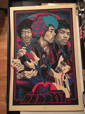 Jimi Hendrix Official Art Print by Tyler Stout! Limited Edition Poster
