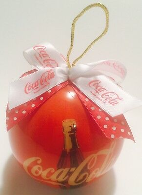 "COCA COLA COLLECTIBLE CHRISTMAS ORNAMENT 2003 New  3"" x 3"""