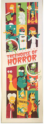 The Simpsons Treehouse of Horror ~ Official Art Print ~ Dave Perillo