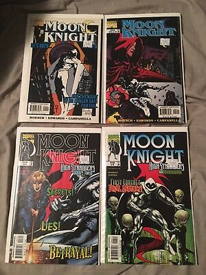 MOON KNIGHT HIGH STRANGERS (1999) 1-4 High grade vf/nm at least. See pics