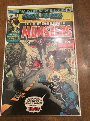 Marvel Premiere #28 1st Appearance Legion of Monsters! Bronze Age Marvel Comic