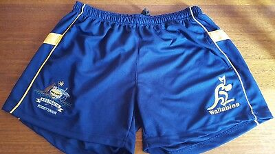 Mens size XXL- Australian Wallabies shorts - Official Licensed Product
