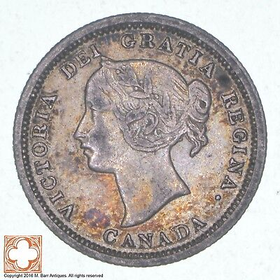 1870 Canada 5 Cents *0779