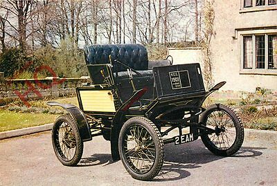Picture Postcard- VINTAGE CAR, 1901 LOCOMOTIVE (STEAM) CAR