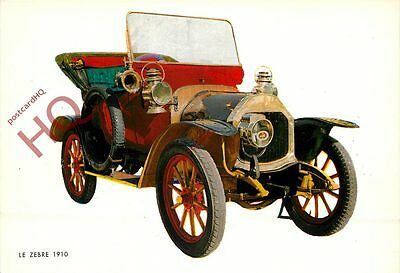 Picture Postcard: VINTAGE CAR, LE ZEBRE 1910