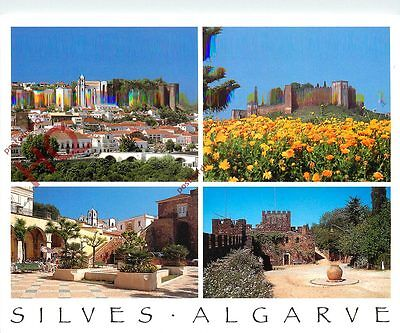 Picture Postcard:;Algarve, Silves (Multiview) (Bad Scan)