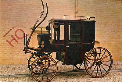 Picture Postcard:;VINTAGE CAR / CART, BROUGHAM TYPE