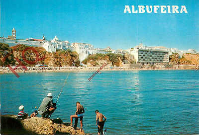 Picture Postcard-:Algarve, Albufeira, Fishing